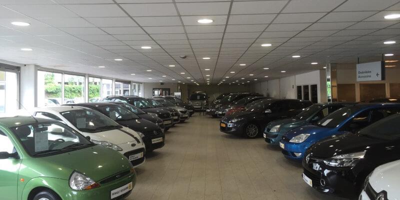 Saled fits Stam Renault location in Soest with LED   Saled LED Lighting