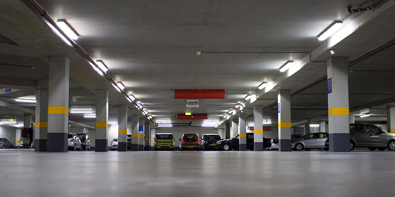 saled led tubes in parking garage nijkerk 5 years later saled led lighting. Black Bedroom Furniture Sets. Home Design Ideas