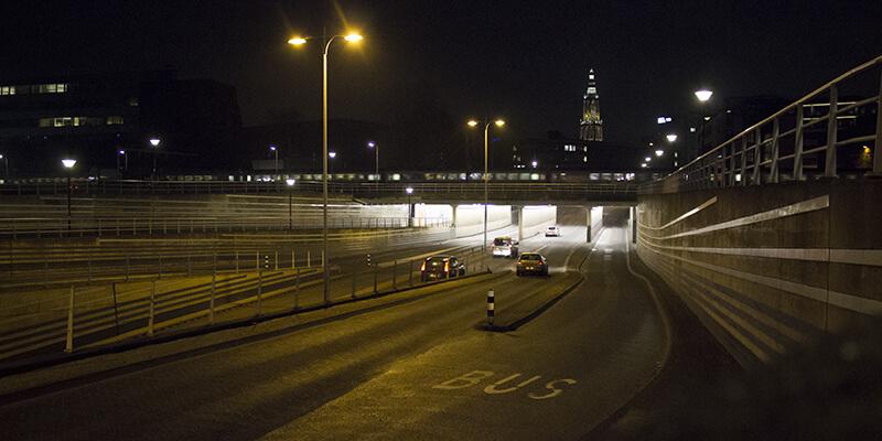 amersfoort tunnels led verlicht