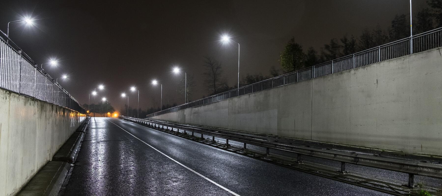 Nieuwe led verlichting van Saled in gemeente Nijkerk