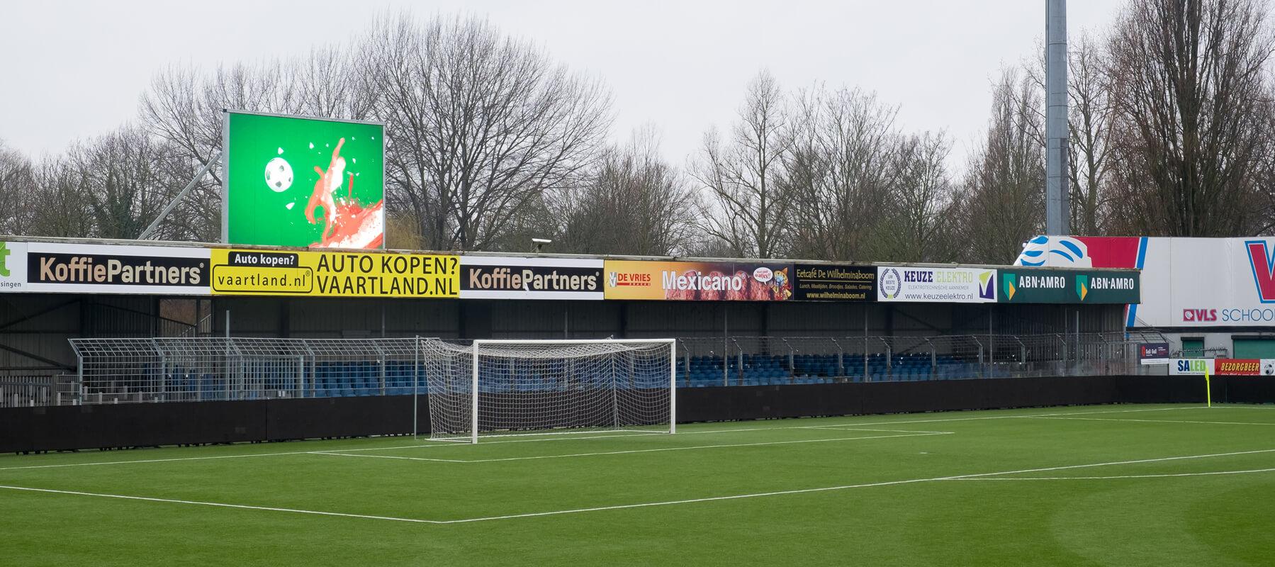 FC Dordrecht kiest voor een nieuw scorebord van Saled
