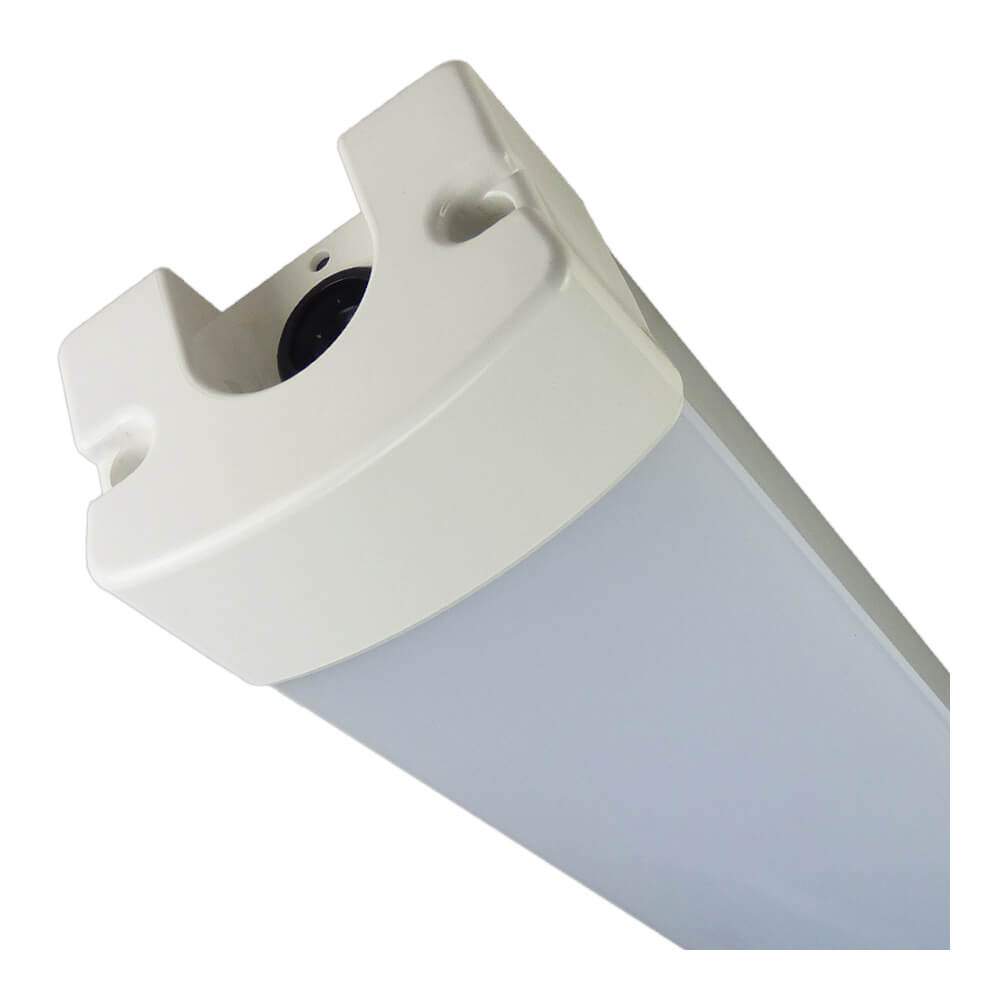 IP65 armatuur met lichtbron op grondplaat