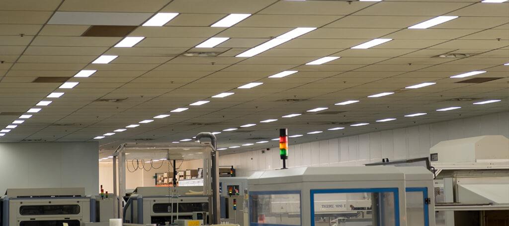 Ramaer printed circuits schaft duurzame led verlichting van Saled aan