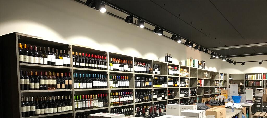Vinotake installeert led verlichting van Saled