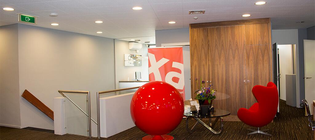 XA document Solutions installeert nieuwe led verlichting van Saled