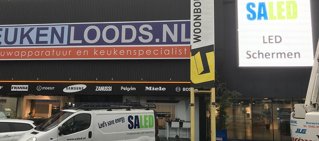 Keukenloods Utrecht kies voor nieuwe led verlichting van Saled