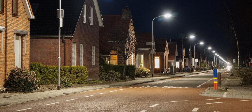 Led verlichting van Saled voor gemeente Oldambt