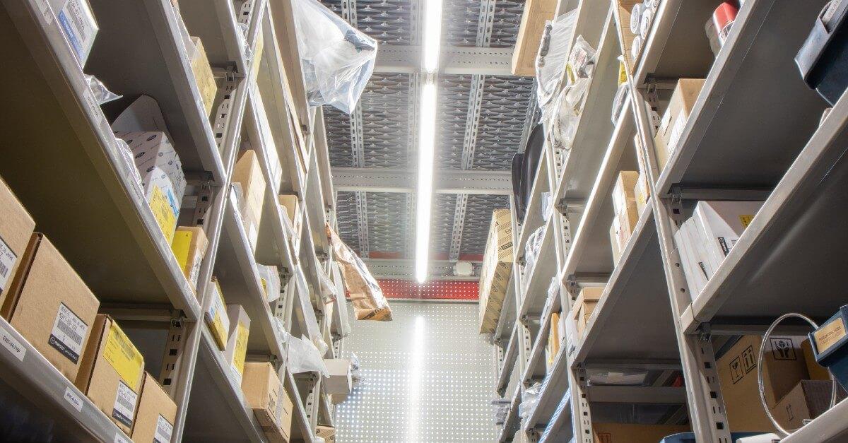 freeroad LED verlichting magazijn
