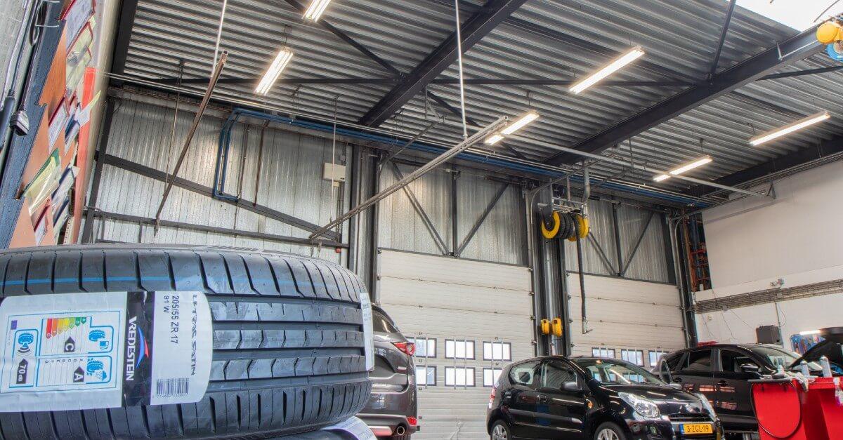 freeroad LED verlichting werkplaats