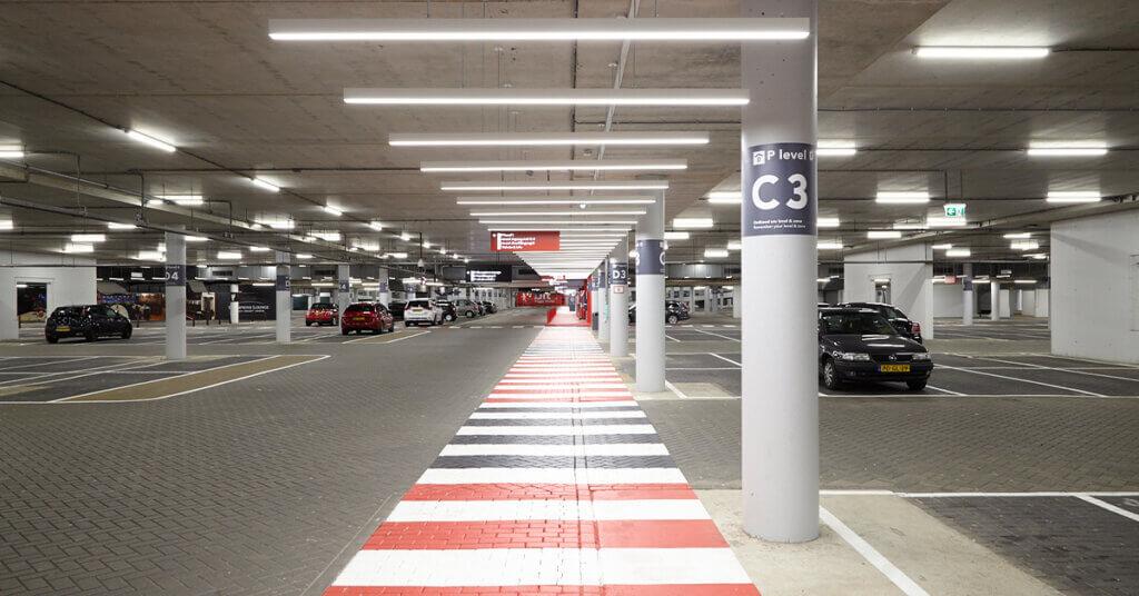 parkeergarage verlichting