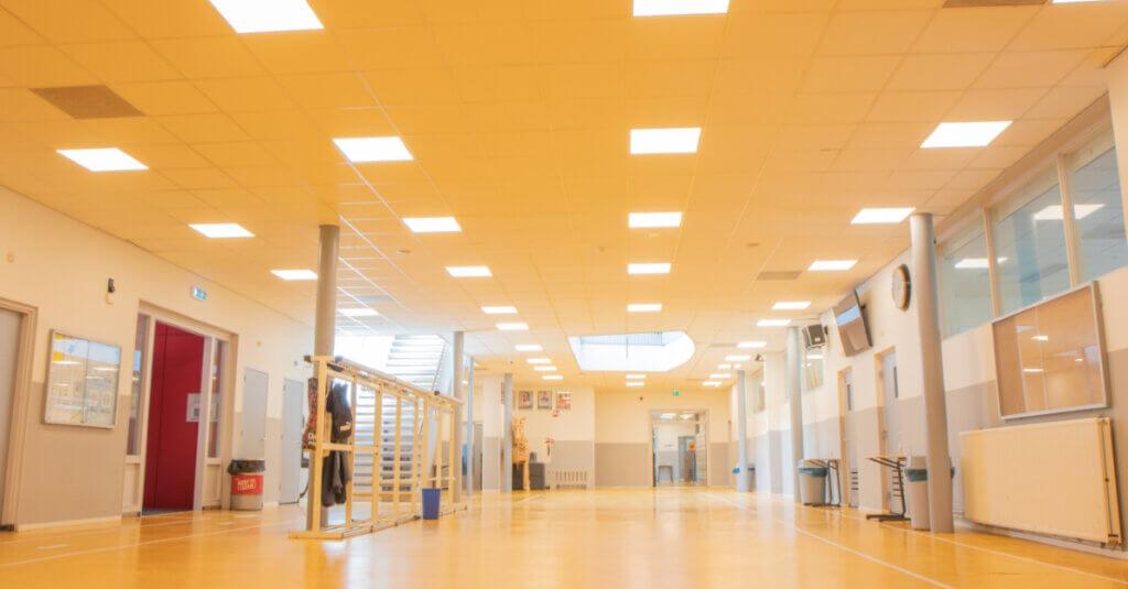 LEd verlichting school