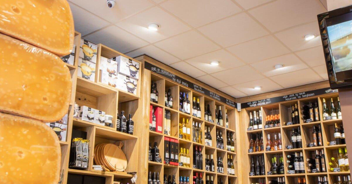 Kaasspeciaalzaak Ed Boele LED verlichting winkel