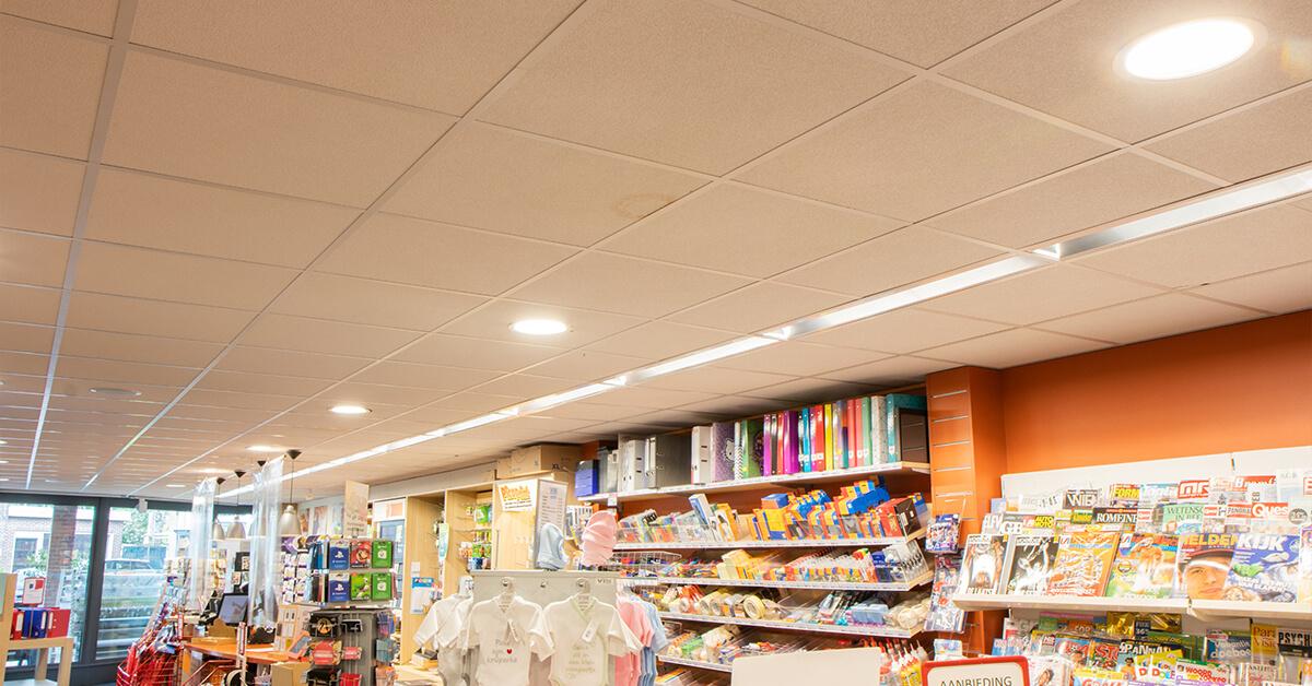 Warenhuis van der Velde installeert nieuwe LED winkelverlichting van Saled