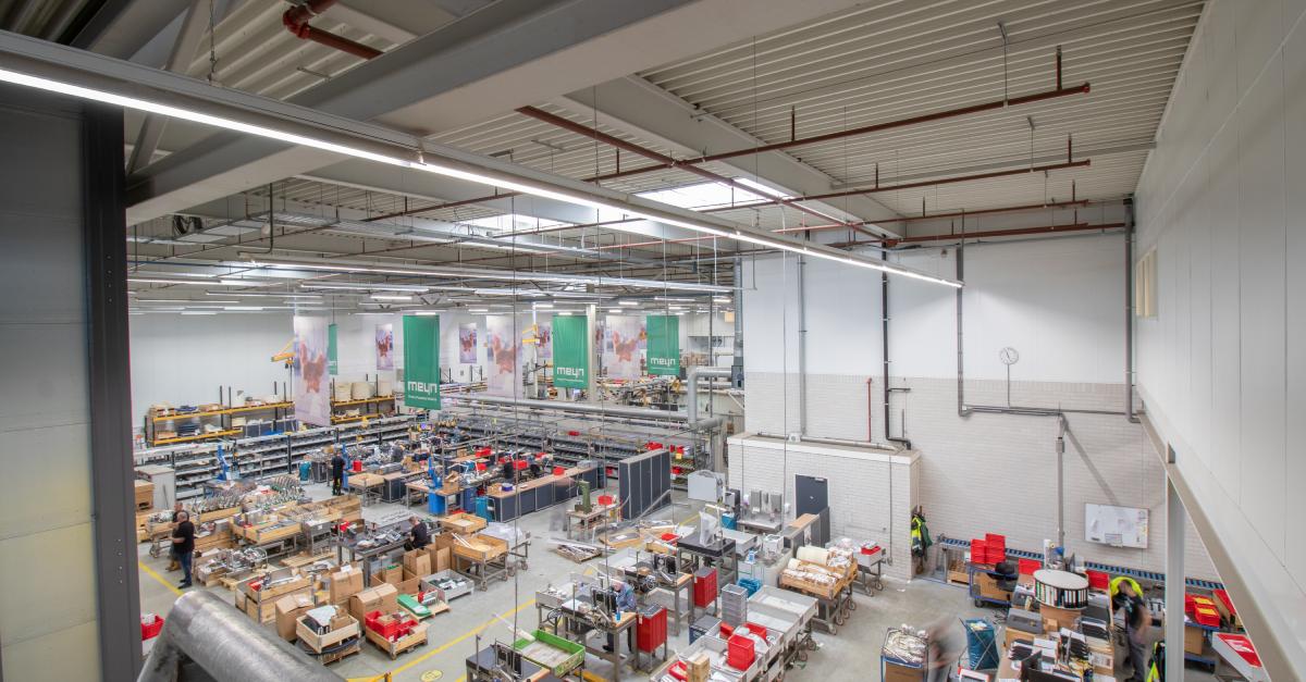 verlichting industrie - meyn food processing