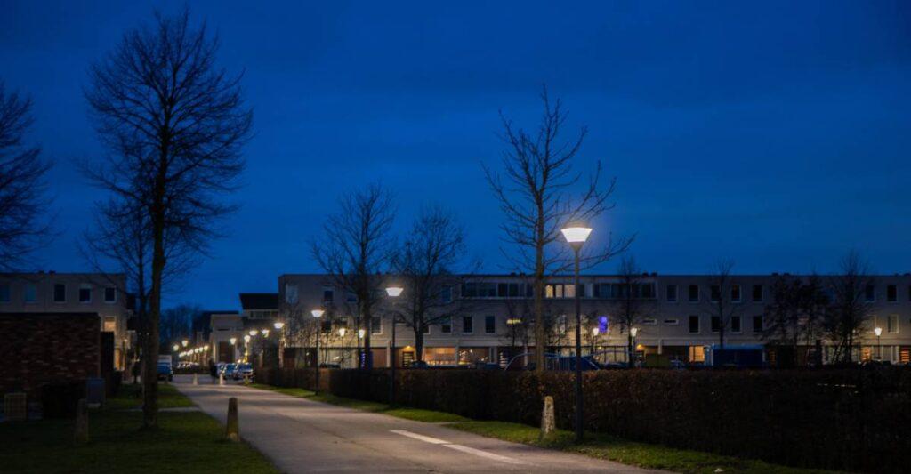 LED straatverlichting gemeente Zoetemeer