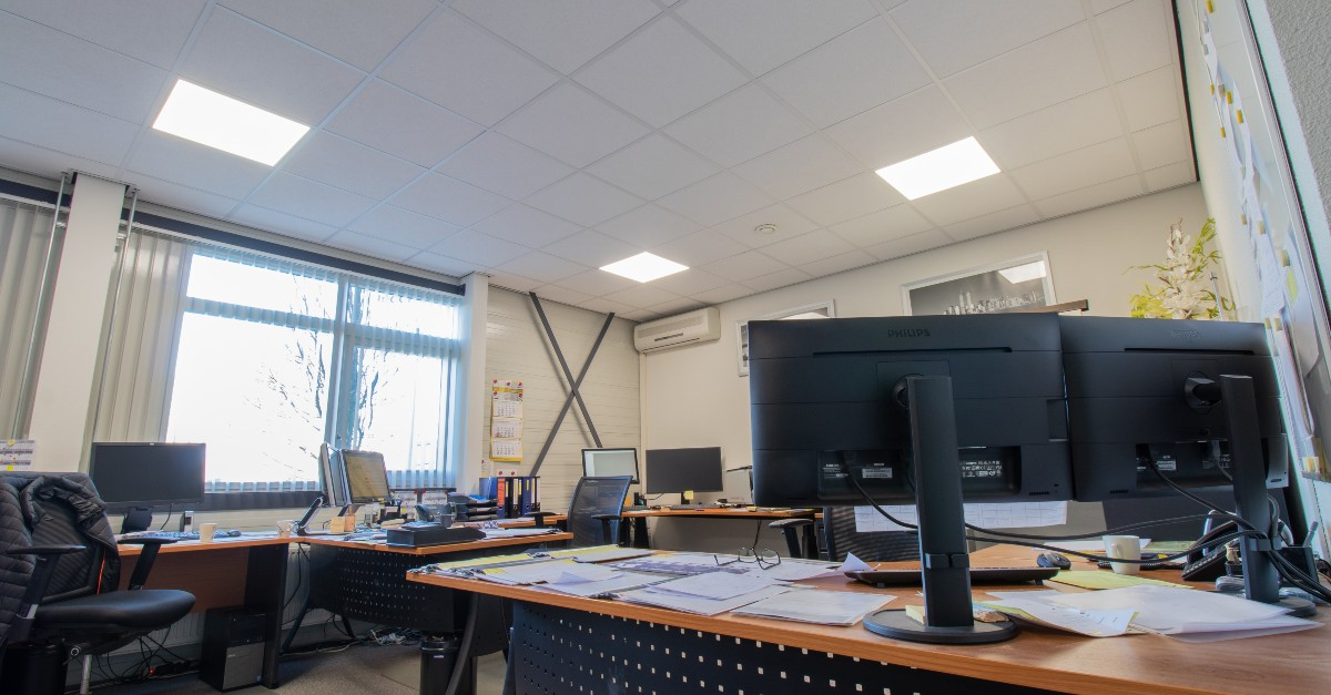 verdonk trappen kantoor verlichting