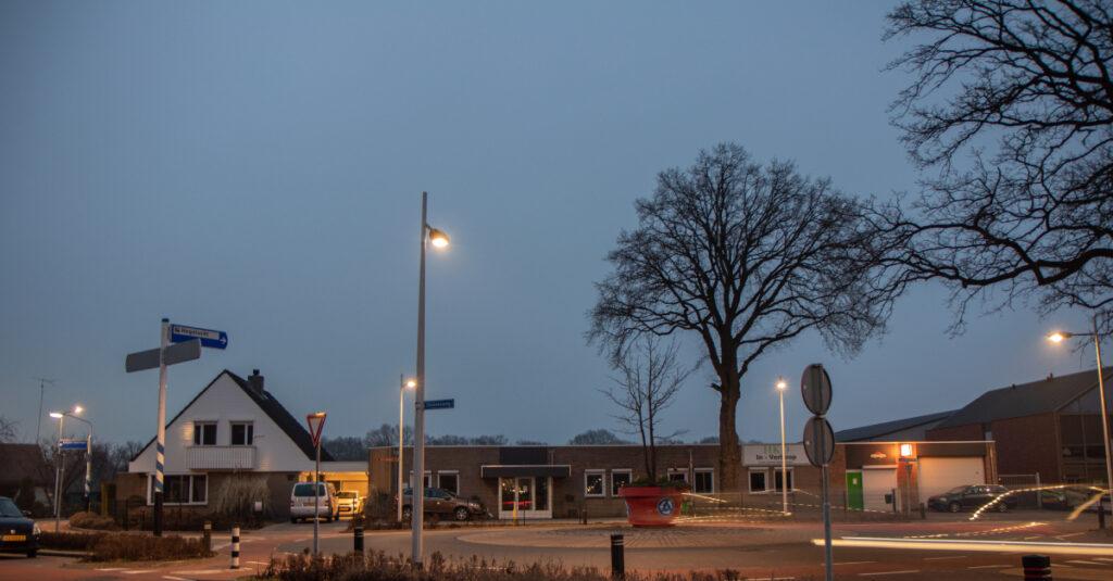 LED straatverlichting Wierden