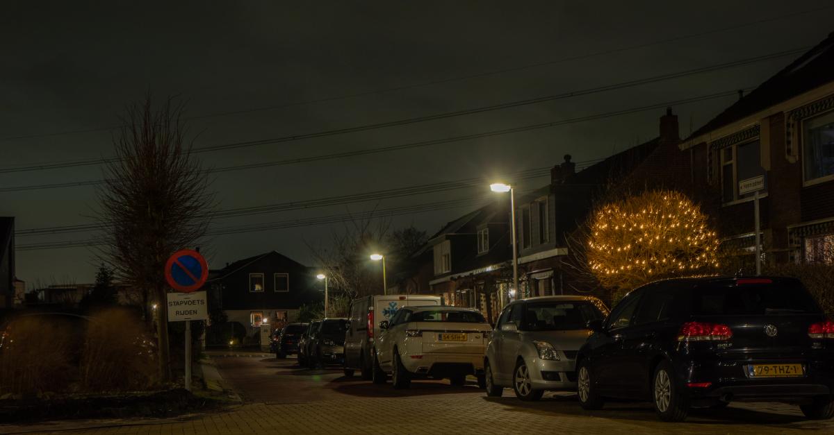 LED straatverlichting Zuidplas